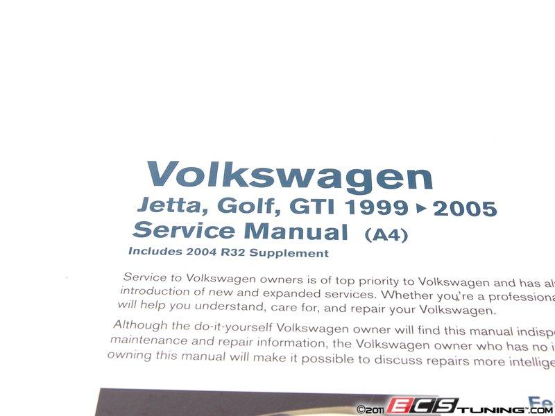 bentley vg vw mkiv jetta golf gti   service manual