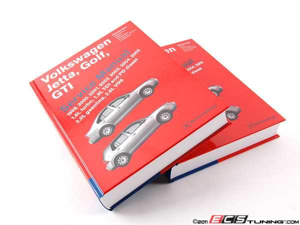 ES#4658 - VG05 - VW MKIV Jetta, Golf, GTI (99-05) Service Manual - A comprehensive must-have for any do-it-yourselfer! Includes 2,008 pages of maintenance, service, and repair information in a two book set! - Bentley - Volkswagen