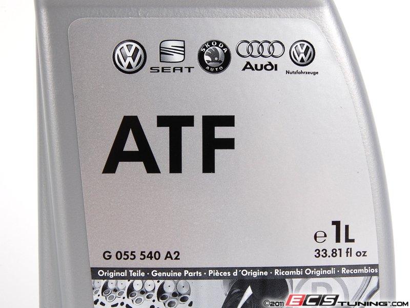 genuine volkswagen audi ga automatic transmission fluid  liter