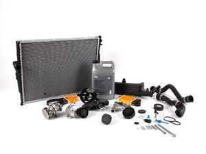 ES#2228847 - 17119071519KT - ECS Cooling System Refresh Kit - Level 3 - The  ultimate cooling refresh kit - with aftermarket components, featuring an ECS Aluminum Pulley and a GEBA water pump - Assembled By ECS - BMW