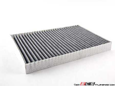 ES#248463 - 4B0819439Cmy - Charcoal Lined Cabin Filter / Fresh Air Filter  - The activated charcoal filters odor from reaching the cabin - Meyle - Audi