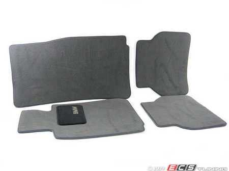 ES#195774 - 82111469761 - Carpeted Floor Mats - Titan Gray - (NO LONGER AVAILABLE) - Complete set of four - Genuine BMW -