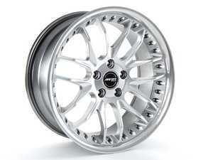 "ES#2207734 - GT71912035 - 19"" GT7 Wheels - Set Of Four - 19x8.5, 5x120, ET35, 72.6cb. Hyper Silver W/ Polished Lip - MRR Design - BMW"