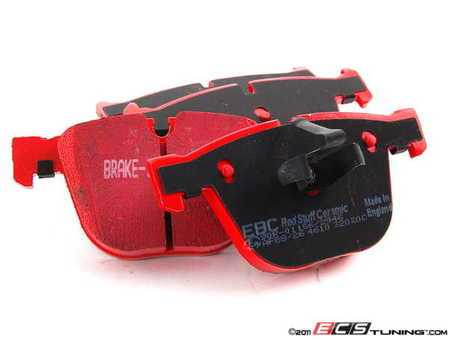 ES#2070779 - DP32020C - Rear RedStuff Performance Brake Pad Set - A high performance street pad, featuring Kevlar technology - EBC - BMW