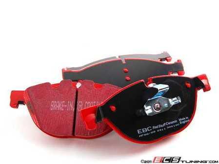 ES#2070778 - DP32019C - Front Redstuff Pad Set  - A high performance street pad, featuring Kevlar technology. - EBC - BMW