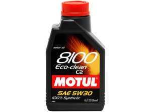 ES#261460 - 841511 - 8100 Eco-Clean C2 5w30 - 1 Liter - ACEA C2 Gasoline & Diesel lubricant - Motul -