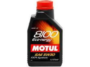 ES#261468 - 812311 - 8100 Eco-Nergy 5w-30 - 1 Liter - Fuel Economy Engine Oil especially designed for recent engines - Motul -