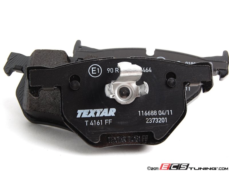 set brake this manufactured on will front textar so p bmw supplier to oem the pad model for platform pads by these was
