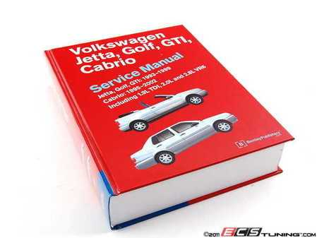 ES#2795 - VG99 - VW MKIII Jetta, Golf, GTI (93-99), Cabrio (1995-2002) Service Manual - A comprehensive must-have for any do-it-yourselfer! Includes 1,088 pages of maintenance, service, and repair information - Bentley - Volkswagen