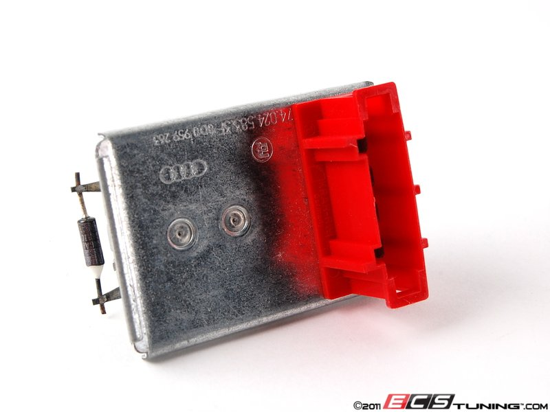 Genuine volkswagen audi 8d0959263 blower motor for Vw passat blower motor resistor