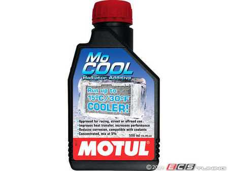 ES#261426 - 847405 - MoCool Radiator Coolant Additive - 16.9oz - (NO LONGER AVAILABLE) - Reduces coolant temperatures by as much as 30*F - Motul -