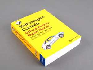 ES#3865 - VC94 - VW Corrado (90-94) Service Manual - A comprehensive must-have for any do-it-yourselfer! Includes 1,064 pages of maintenance, service, and repair information. - Bentley - Volkswagen