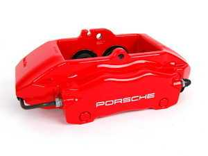 ES#9134 - 99635142611 - Front Brake Caliper - Red - Right side fitment - Genuine Porsche - Porsche