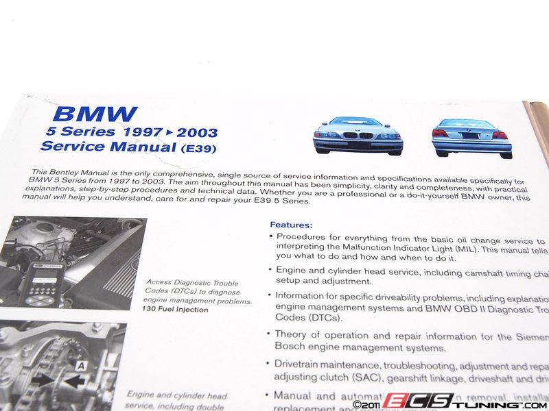 ecs news bmw e39 5 series bentley service manuals. Black Bedroom Furniture Sets. Home Design Ideas