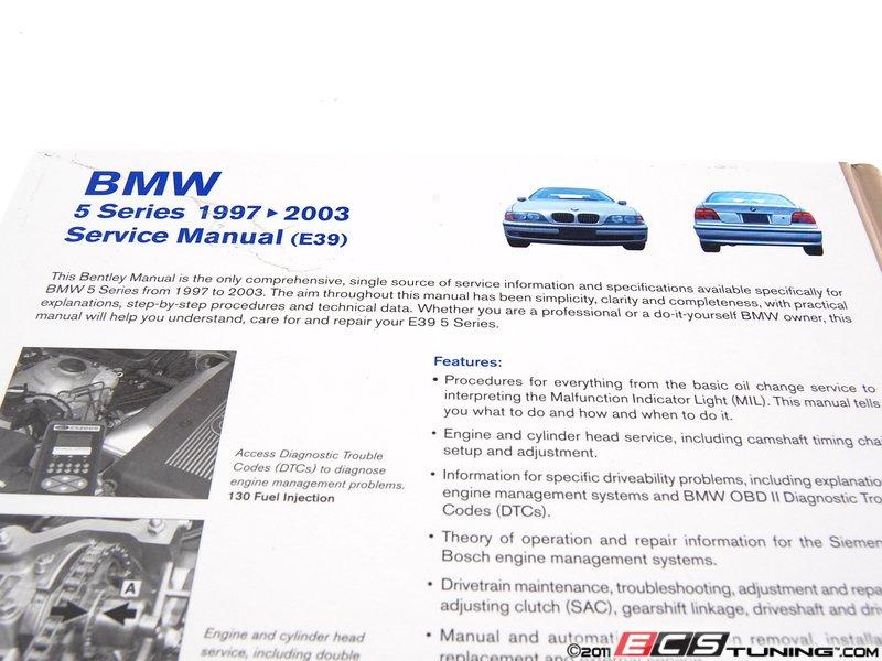 Bentley b503 bmw e39 5 series 1997 2003 service manual solutioingenieria Images