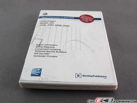 ES#7071 - VAG6 - MKV GTI/Rabbit (06-09) DVD-ROM Service Manual - A comprehensive must-have for any do-it-yourselfer. - Bentley - Volkswagen