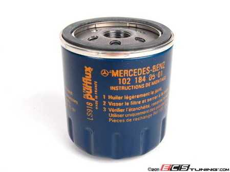 ES#1626594 - 1021840501 - Oil Filter - Priced Each - Spin on filter - Genuine Mercedes Benz - Mercedes Benz