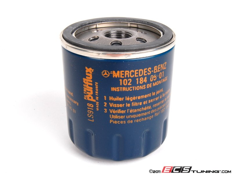 Genuine mercedes benz 1021840501 oil filter priced each for Mercedes benz approved oil list
