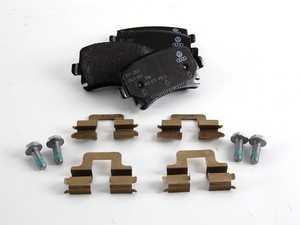 ES#6210 - 1K0698451G - Rear Brake Pad Set - Composite pads that are a great solution for your daily driver. - Genuine Volkswagen Audi - Audi Volkswagen