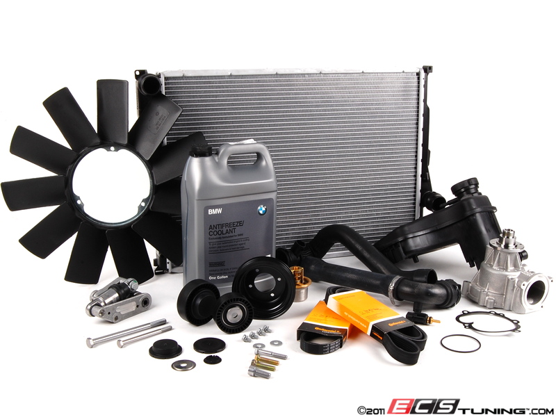 ECS News - BMW E46 M3 Cooling Maintenance Kits