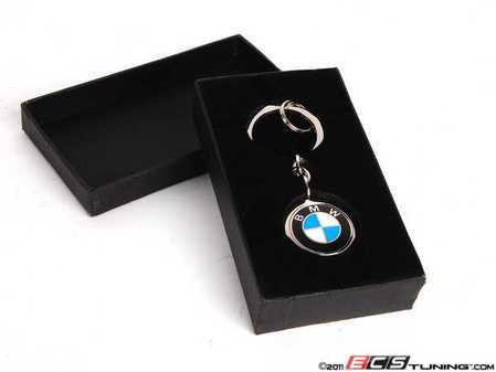 ES#11396 - 80230395067 - BMW Key Chain - Locket style key chain with the BMW roundel - Genuine BMW - BMW