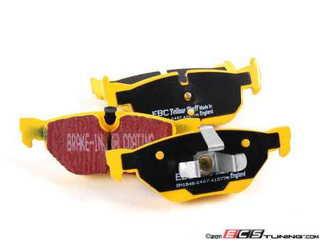 ES#520887 - DP41577R - Rear YellowStuff Performance Brake Pad Set - A race quailty pad that can be used at the track and back home again - EBC - BMW