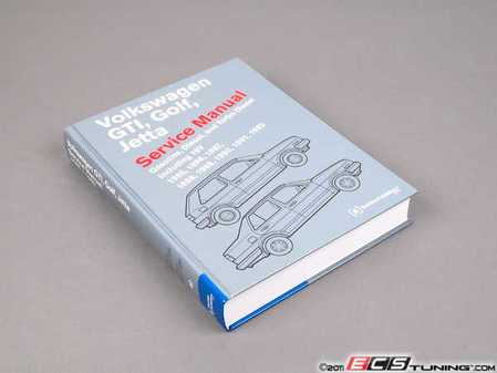 ES#3861 - VG92 - VW MKII GTI, Golf, Jetta (85-92) Service Manual - A comprehensive must-have for any do-it-yourselfer! Includes 840 pages of maintenance, service, and repair information. - Bentley - Volkswagen