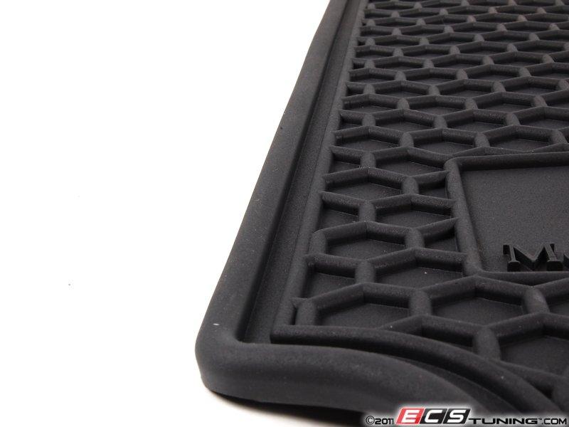 Genuine mercedes benz q6680665 all season floor mats for Mercedes benz car floor mats