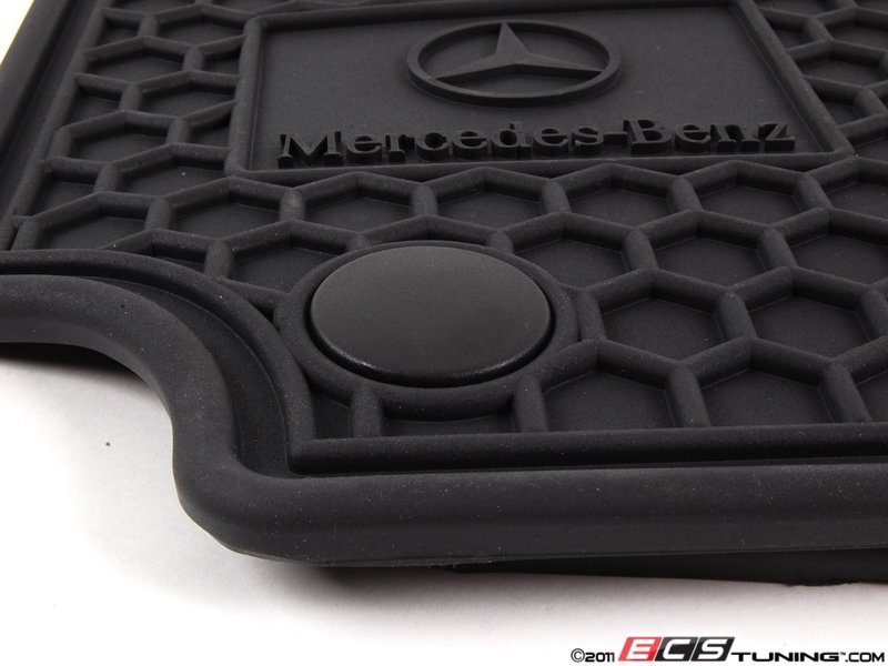 Ecs news all weather floor mats for mercedes benz c for Mercedes benz e350 floor mats