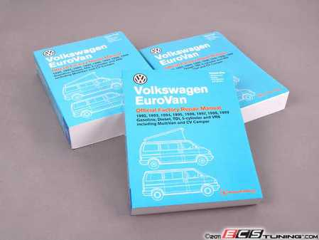 ES#2083245 - VV99 - Eurovan (92-99) Service Manual - Paperback - All of the information you need to repair your Eurovan properly - Bentley - Volkswagen