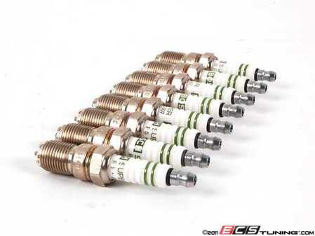 ES#8042 - hgr7kqc-set - Spark Plug - Set Of Eight (#HGR7KQC) - Keep your engine running strong with platinum spark plugs - Bosch - Audi