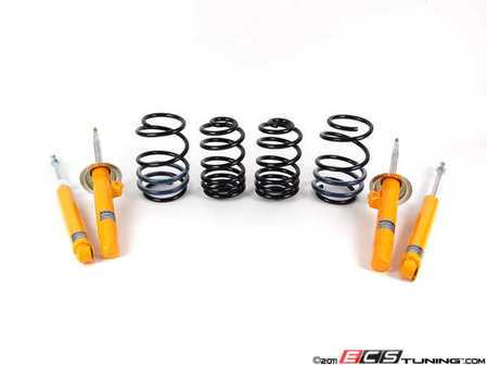 ES#1843907 - E46M3KHR - Koni Yellow & H&R Sport Spring Kit - Perfect combination of handling, lowering and adjustable ride quality - Assembled By ECS - BMW