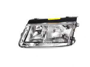 ES#2497390 - 9548091E - European Halogen Headlight - Includes Fogs - Left (Driver Side) - Improve night time visibility with these European headlight housing - DJ Auto - Volkswagen