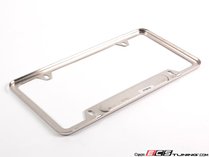 es250596 82122148727 mini jcw logo license plate frame chrome priced