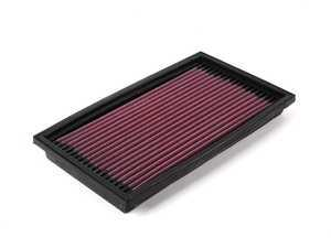 ES#11614 - 33-2059 - Air Filter - Priced Each - Drop-in high performance air filter with a million mile warranty! - K&N - BMW