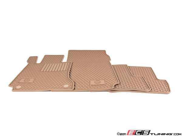 Genuine mercedes benz q6680666 all season floor mats for Genuine mercedes benz floor mats