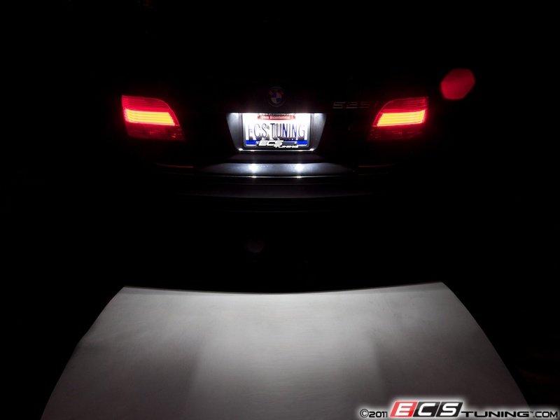 ZiZa  E39INTKT5  LED License Plate Bulbs  Pair