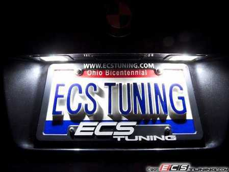 ES#2526269 - E39INTKT5 - LED License Plate Bulbs - Pair - Improve the look of your car! - ZiZa - BMW