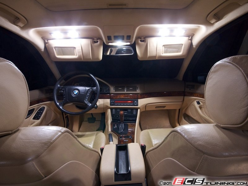 Ecs News Bmw 5 Series E39 Led Interior Lighting Kit