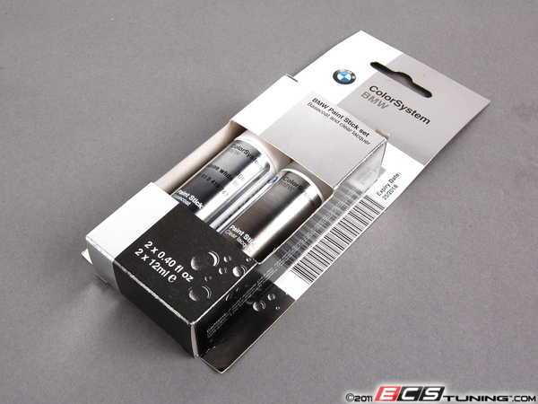 ES#131321 - 51910419747 - Alpine White III Touch Up Paint Stick - 300 - Direct from BMW to ensure the proper color matching - Genuine BMW -