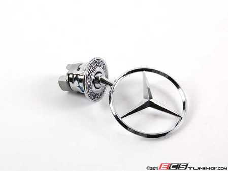ES#1758919 - 2108800186 - Star Emblem - Located On Hood - Genuine Mercedes Benz - Mercedes Benz