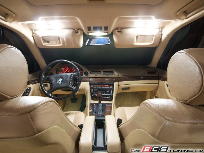 Ecs News Bmw E38 7 Series Ziza Led Interior Lighting Kits