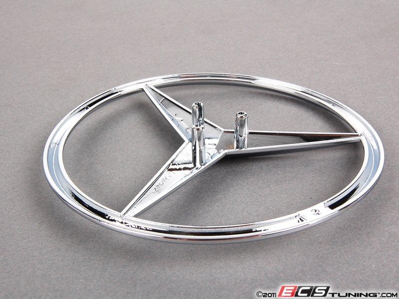 Genuine mercedes benz 1648170016 mercedes star emblem for Mercedes benz star emblem