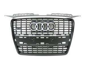 ES#6608 - 8P4853651DVMZ - Blackout S-Line Grille Assembly - Direct bolt on sport grille for your A3 - Genuine Volkswagen Audi - Audi