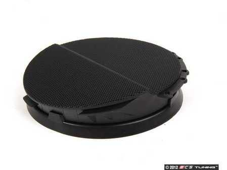 ES#102013 - 51418224012 - Right Front Speaker Cover - Schwarz/Black. Protects the front door speaker - Genuine BMW - BMW