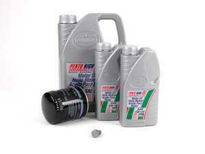 ES#1521 - B5V630V3KKT - Oil Service Kit - Includes Mann oil filter and Pentosin 5w-40 oil - Assembled By ECS - Audi Volkswagen