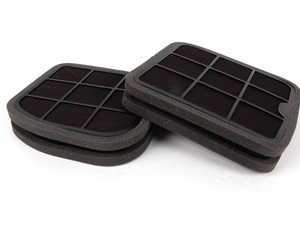 ES#2500821 - 2108301118 - Cabin Air Filter - Set Of Two - Activated Charcoal Filter - NPN - Mercedes Benz