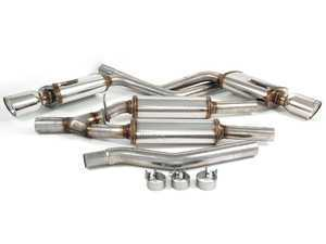 """ES#1892705 - 16601 - Cat-Back Exhaust System - 2.25"""" stainless steel with dual 4"""" polished stainless tips - Magnaflow - Audi"""