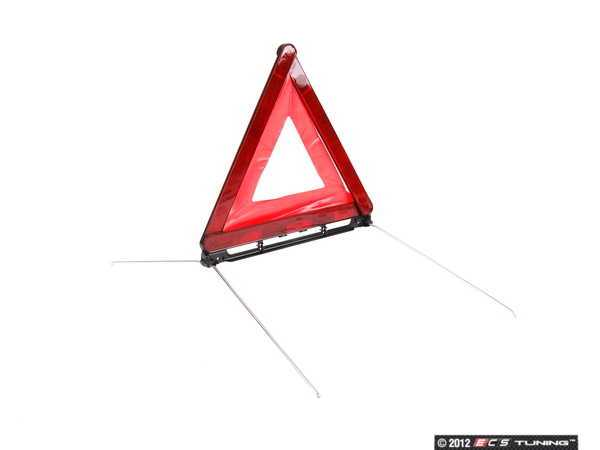 ES#435105 - 8D9860251B - Warning Triangle - Hatch mounted and foldable - Genuine Volkswagen Audi - Audi