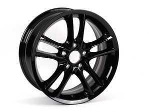 "ES#205651 - 36116786887 - 18"" Double Spoke Style 182 Wheel - Priced Each - 18x7.5 ET 49 72.6 CB - Genuine BMW - BMW"